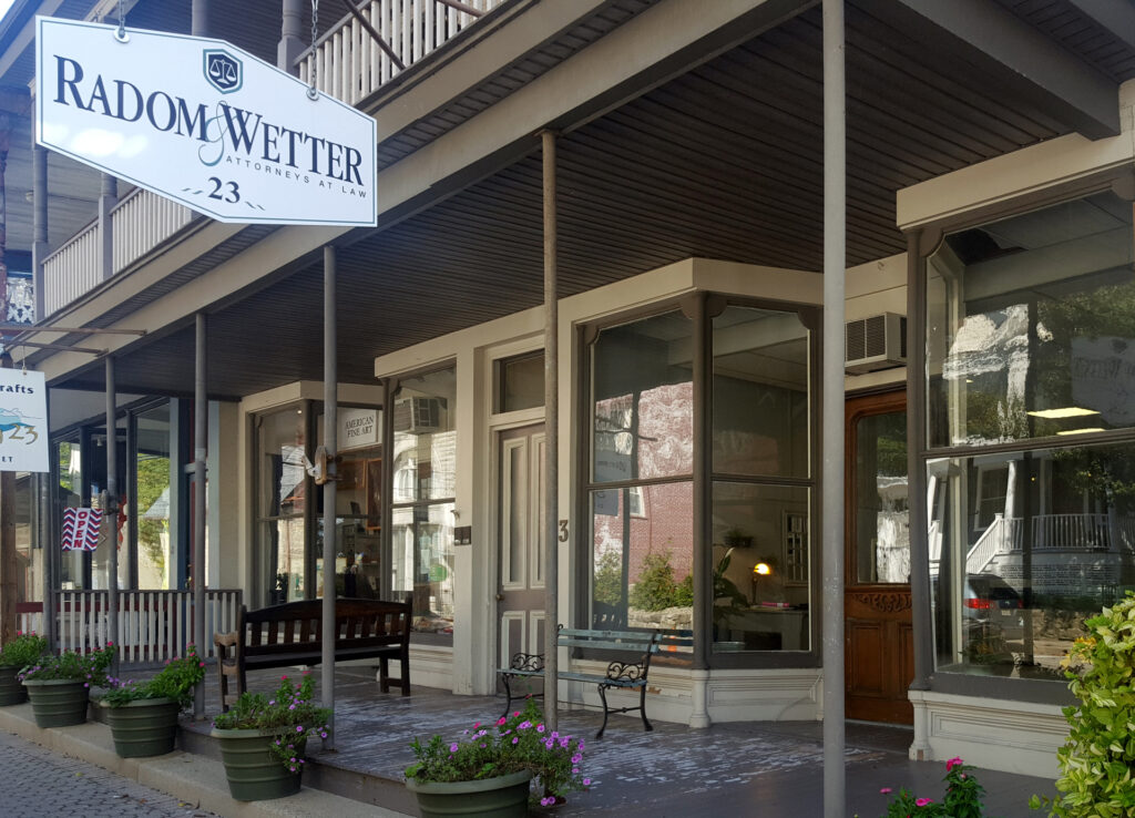 Radom and Wetter Blairstown Office